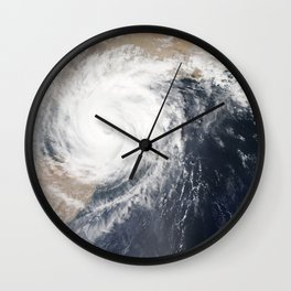 Tropical Cyclone Chapala Over the Gulf of Aden Wall Clock