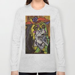 THE WEEPING WOMAN - PICASSO Long Sleeve T-shirt