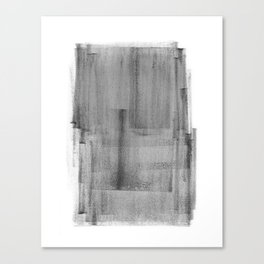 Abstract Watercolor Painting Black and White Wall Art Print Scandinavian Ink Living Room Decor Canvas Print