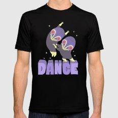 DANCE MEDIUM Mens Fitted Tee Black