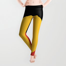 Australian Aboriginal Flag Leggings