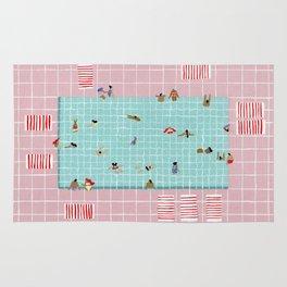 Pink Tiles Rug