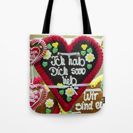 Fairground hearts Tote Bag