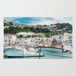 Capri Italy Fine Art Print Rug