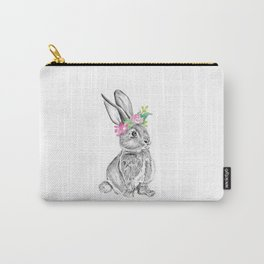 Bunny   Animal Illustration Carry-All Pouch