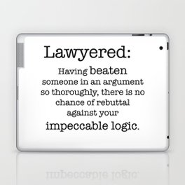 Lawyered Laptop & iPad Skin