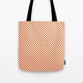 orange diamond Tote Bag