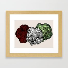 The Nature Of Dust Framed Art Print