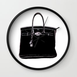 FRENCH CLASSIC BAG Wall Clock