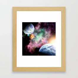 Dawn Sisters Framed Art Print