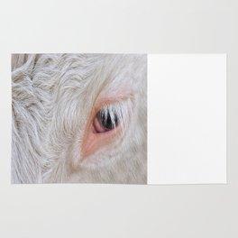 Cow's Eye Lash Rug