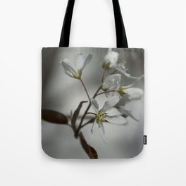 The fragile start of spring Tote Bag