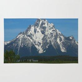 Beautiful Grand Teton NP Rug