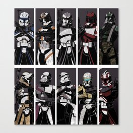 Commanders and Captains Canvas Print