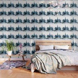 Negative Water Fountain Wallpaper