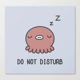 Do Not Disturb Canvas Print