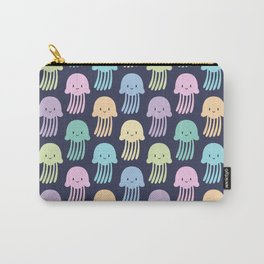 Cute colorful jellyfishes Carry-All Pouch