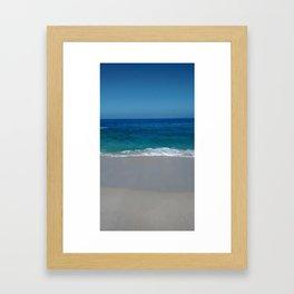 Siete colores Framed Art Print
