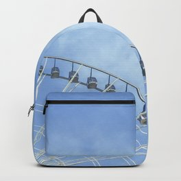 Life is a wheel of fortune Backpack