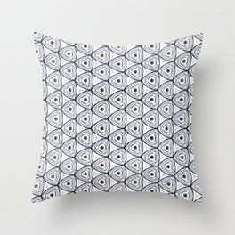 chiang tapestry bw Throw Pillow