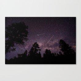Busy Sky Canvas Print