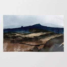 Hathersage Moor, Peak District Rug