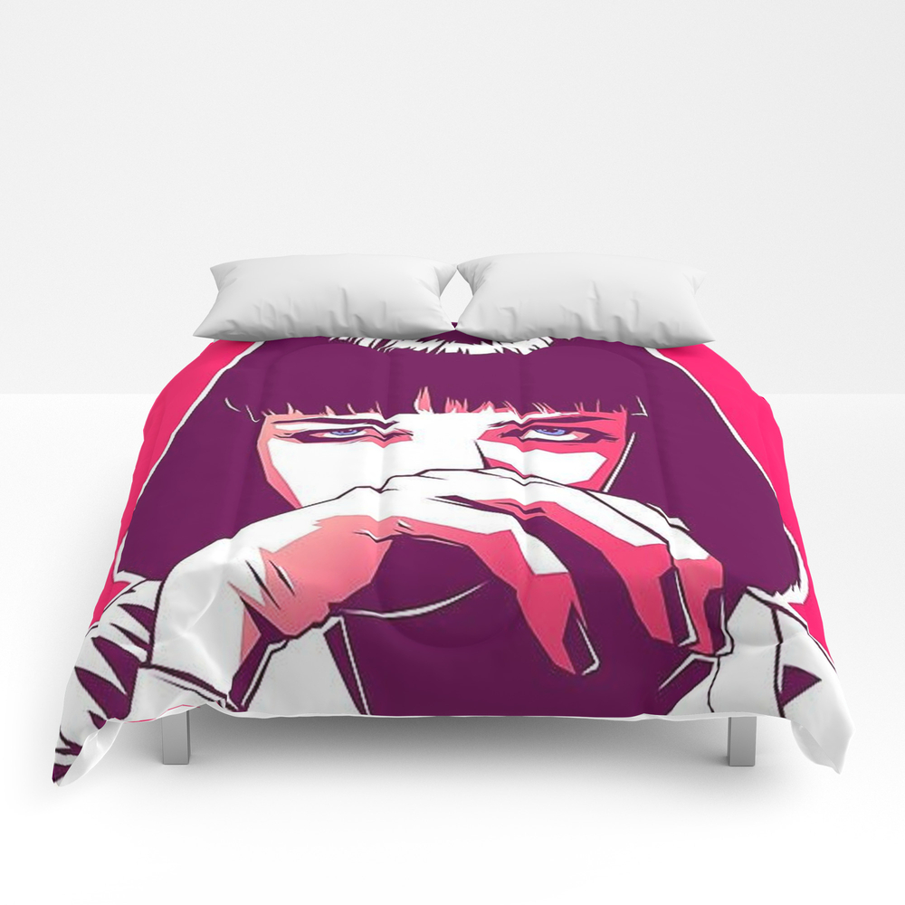 Pulp Fiction Mia Wallace Comforter by Prodesigner2 CMF8670977