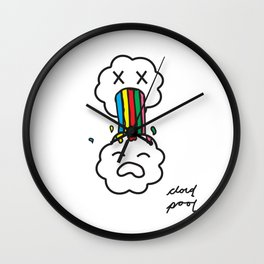 to much cloud  Wall Clock