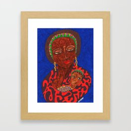 A Son Is Given Framed Art Print