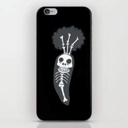 X-rays vegetables (black background) iPhone Skin