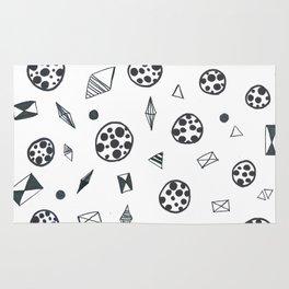 Sketch pattern Rug