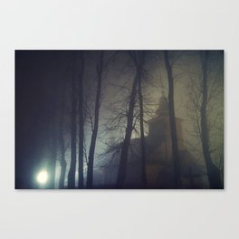 The Mysterious Night Canvas Print