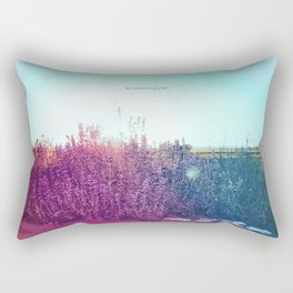 Remembering You Between Whispers Rectangular Pillow