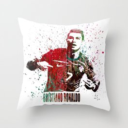 Cristiano Ronaldo #CristianoRonaldo art 2 Throw Pillow
