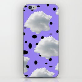 Torn Clouds and Black Holes iPhone Skin