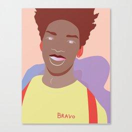 Smilin' Canvas Print