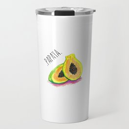 papaya Travel Mug