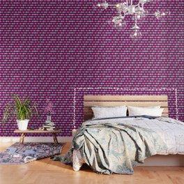Pink Lavender Black Argyle Wallpaper
