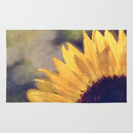 Another sunflower - Flower Flowers Summer Rug