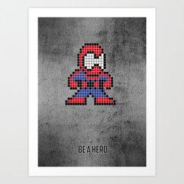 Arachnophobe Art Print
