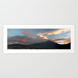 Chasing Sunsets Art Print