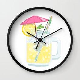 Summer Essential #2 Lemonade Wall Clock