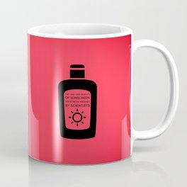 Sunscreen / Long-term benefits Coffee Mug
