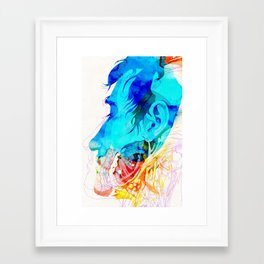 Anatomy Quain v2 Framed Art Print