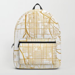 TUCSON ARIZONA CITY STREET MAP ART Backpack