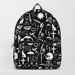 Buffy Symbology, White Backpack