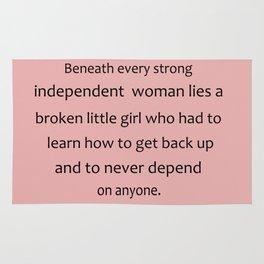 Strong Woman Rug