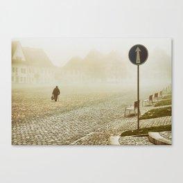 one-way Canvas Print