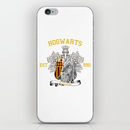 University Style School Shirt   Potter, Harry   Lion, Red and Gold iPhone Skin
