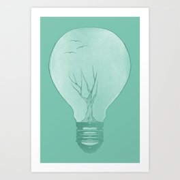 Ideas Grow 2 Art Print